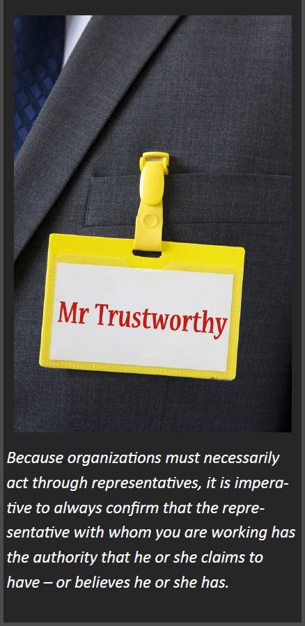 Mr Trustworthy