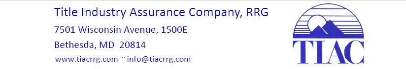 Title Industry Assurance Company, RRG